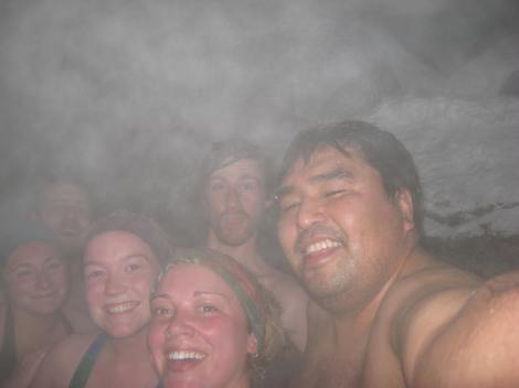 At the Hot Springs